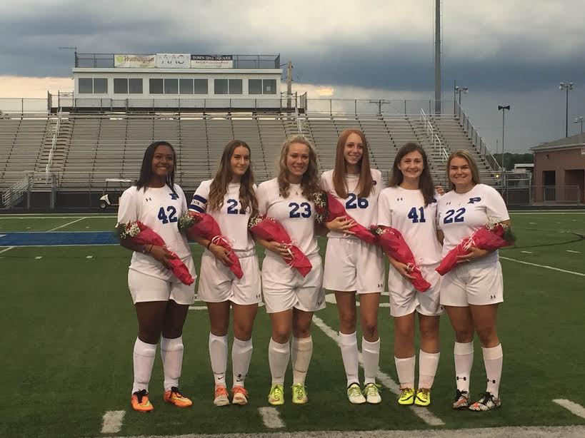 Girls Soccer Senior Night Celebration
