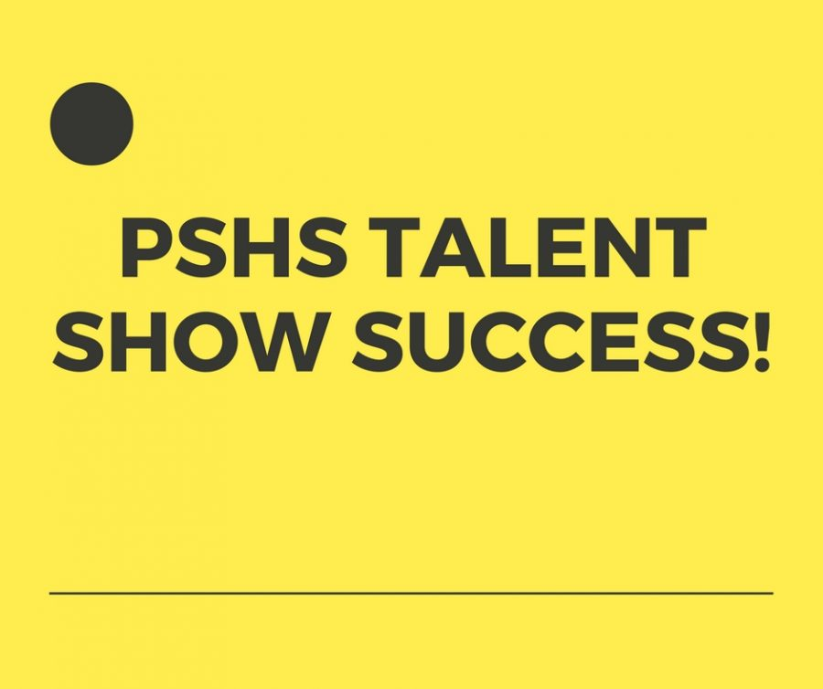 PSHS+Talent+Show+Success
