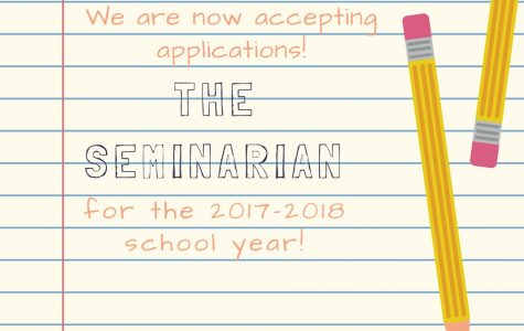 Seminarian Newspaper Staff Application
