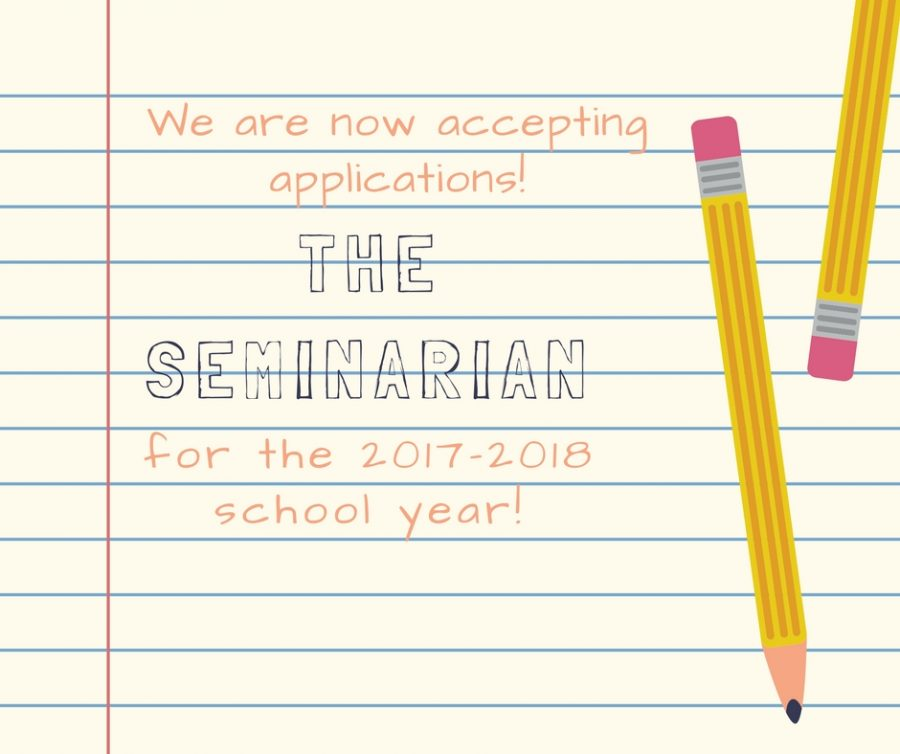 Seminarian+Newspaper+Staff+Application