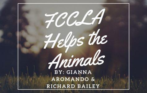 FCCLA Helps the Animals