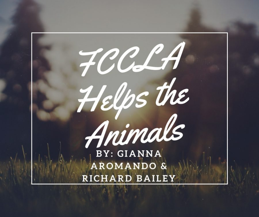 FCCLA Helps the Animals