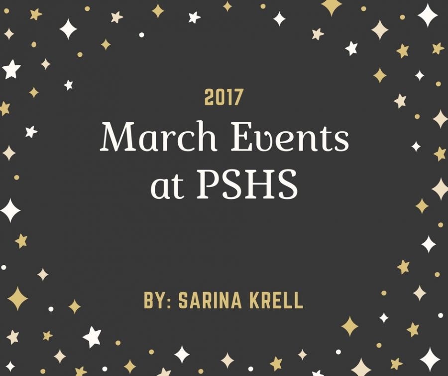 March Events at Poland Seminary High School