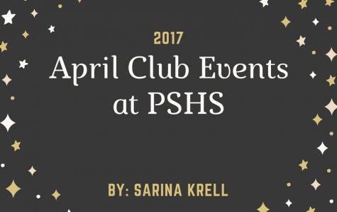 April Club Events at PSHS