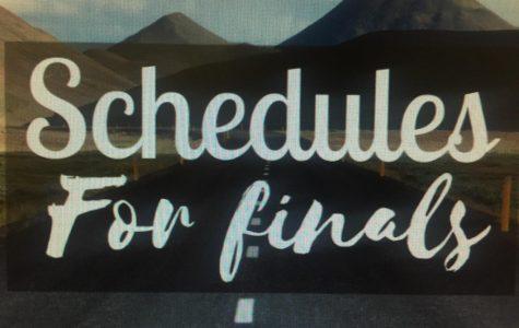 Underclassmen Final Exam Schedule