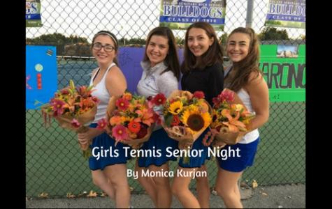 Girls' Tennis Senior Night