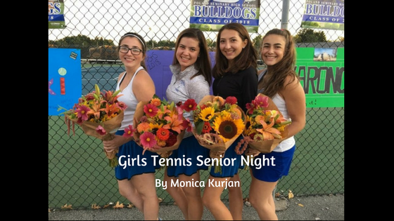 Girls' Tennis Senior Night