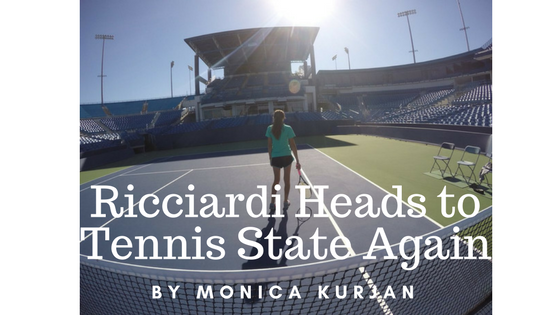 Ricciardi Heads to Tennis State Again