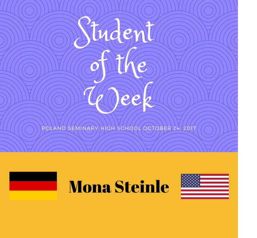 Student of the Week: Mona Steinle