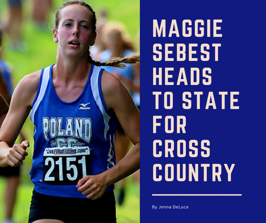 Senior Maggie Sebest Heads to State for Cross Country