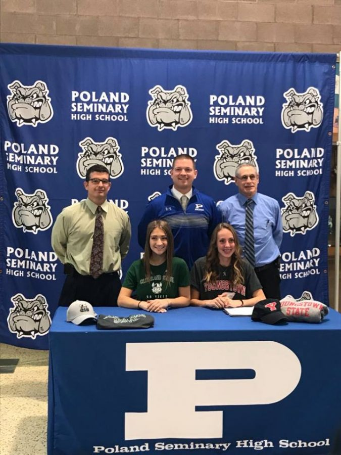Two Poland Athletes Sign with Colleges