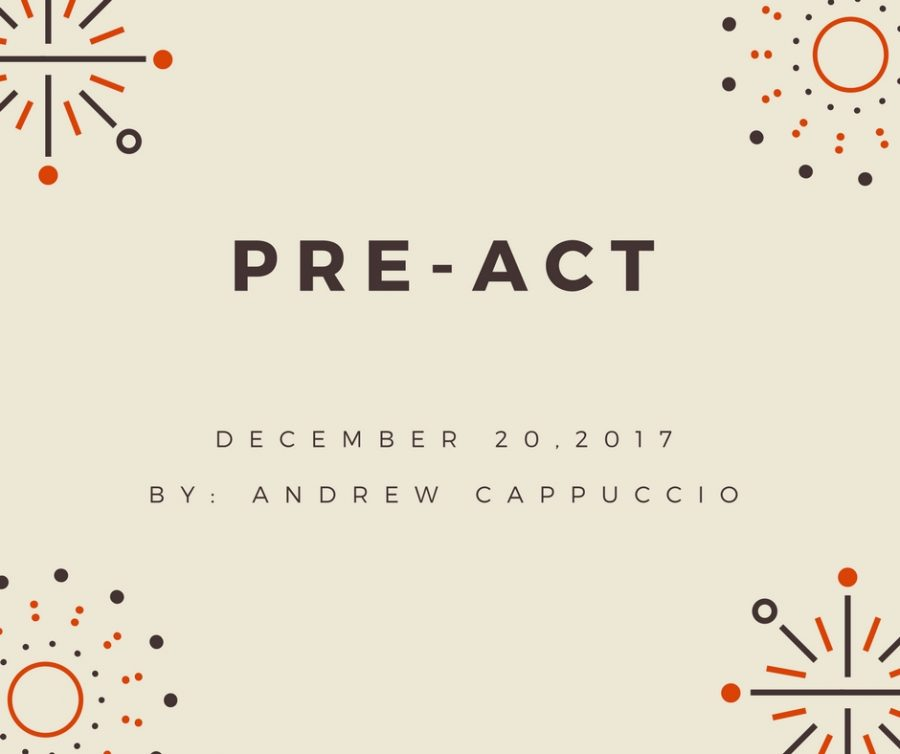 The+Pre-ACT+Test
