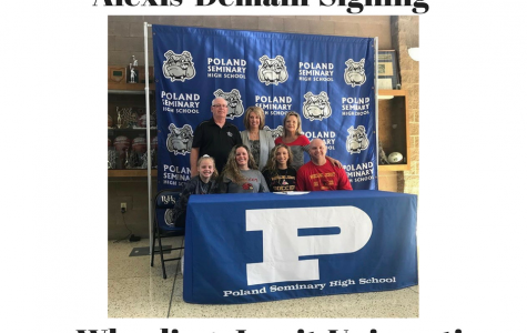 Alexis DeMain Signing
