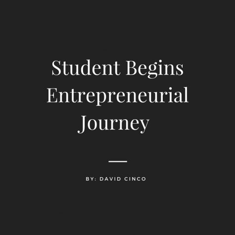 Student Begins Entrepreneurial Journey
