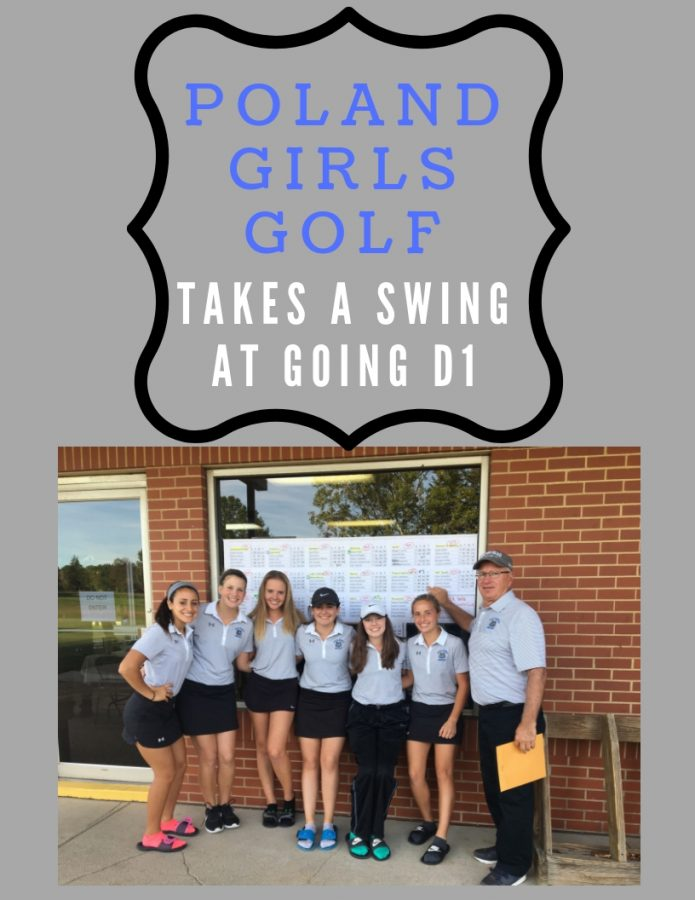 Poland Girls Golf takes a swing at D1
