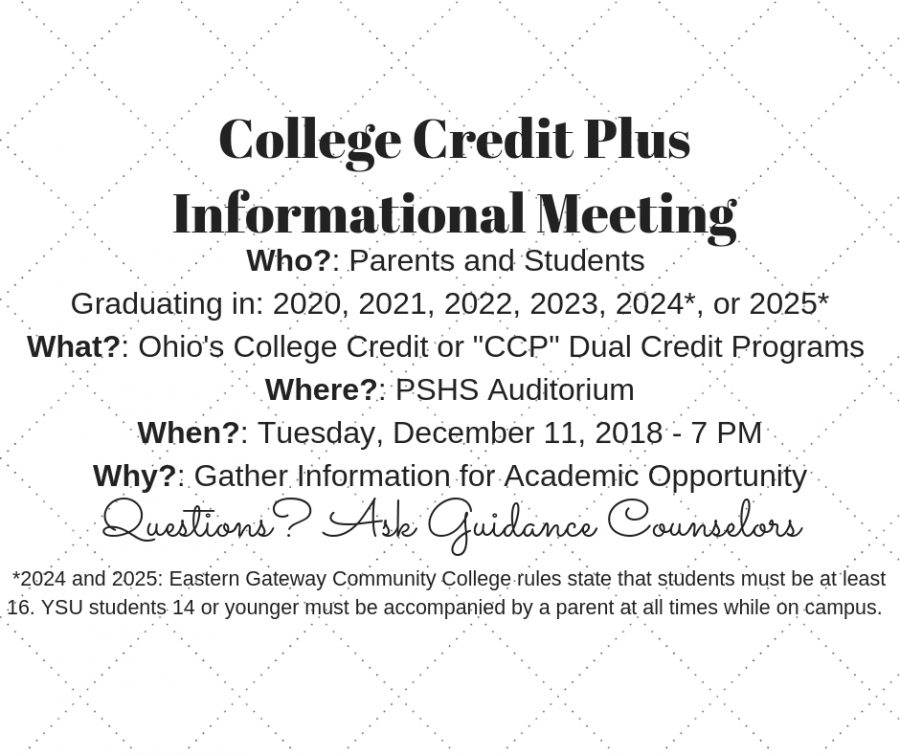 College+Credit+Plus+Dual+Enrollment+Meeting