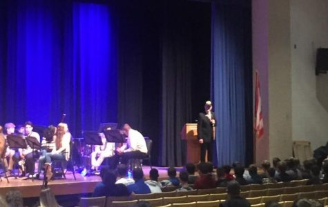 Assembly helps students reflect on meaning of Veteran's Day