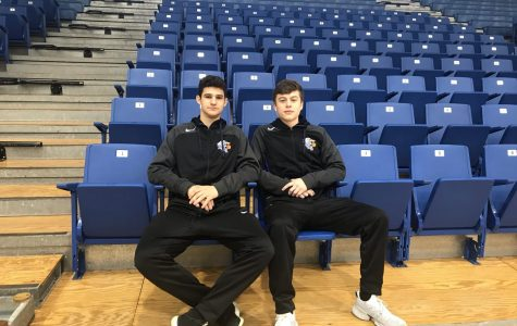 McCauley and O'Shaughnessy reflect on a goal for the basketball season