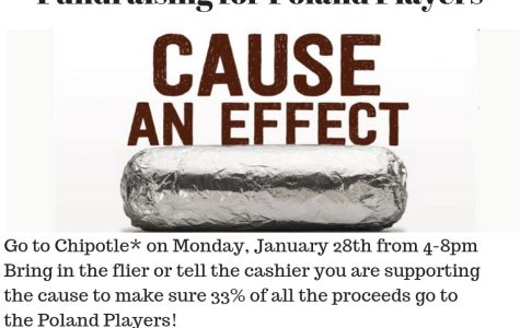 Support Poland Players at Chipotle