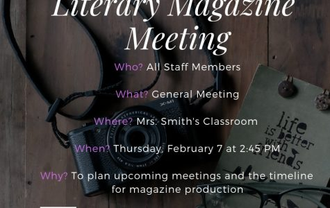 Literary Magazine February Meeting