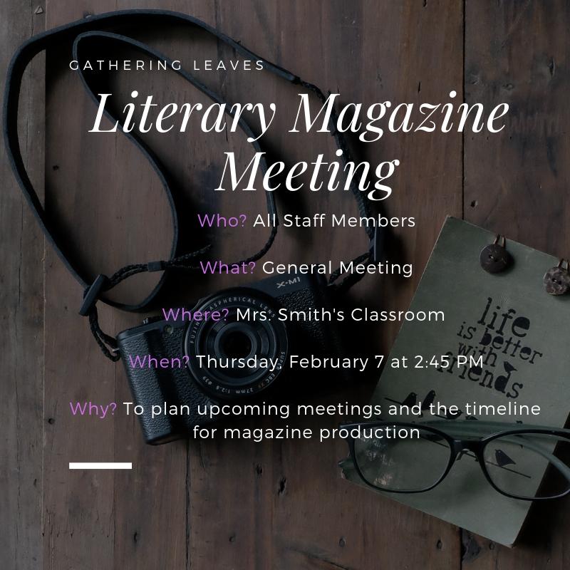 Literary+Magazine+February+Meeting