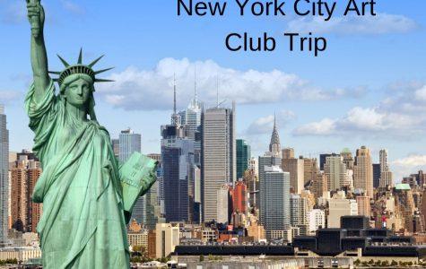 Art students visit New York City