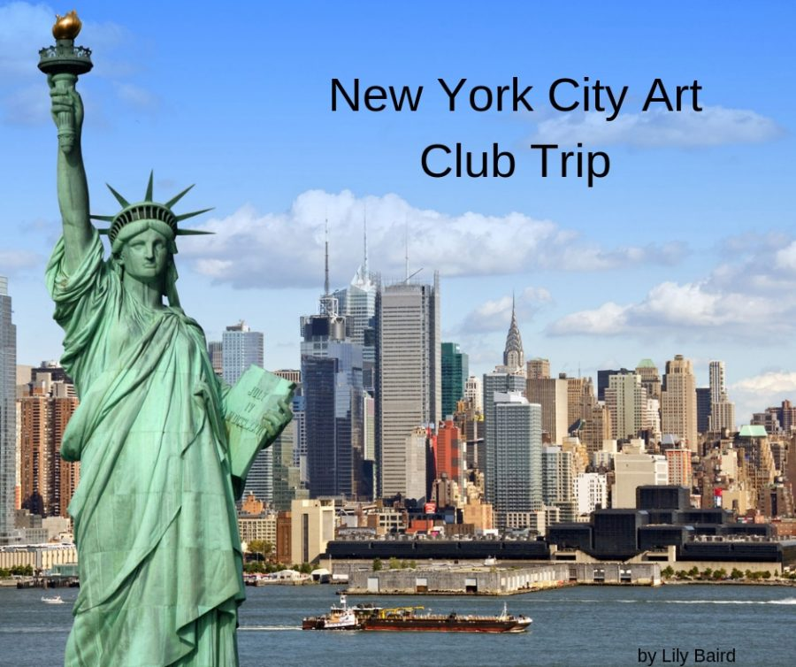 Art+students+visit+New+York+City
