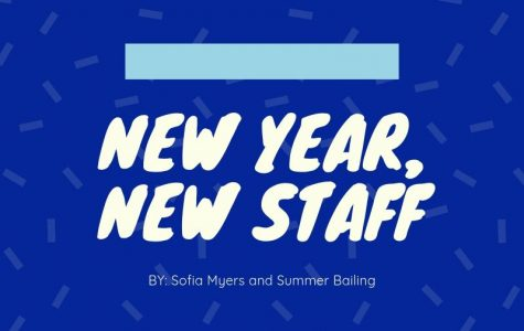 New Year, New Staff
