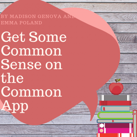 Get Some Common Sense on the Common App