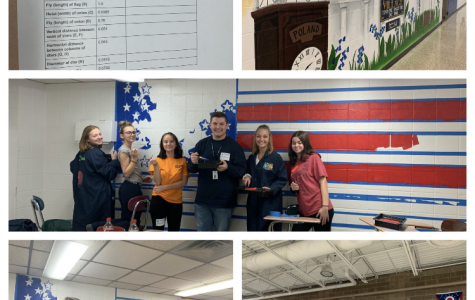 Veterans Day Flag Mural from MCCTC Students