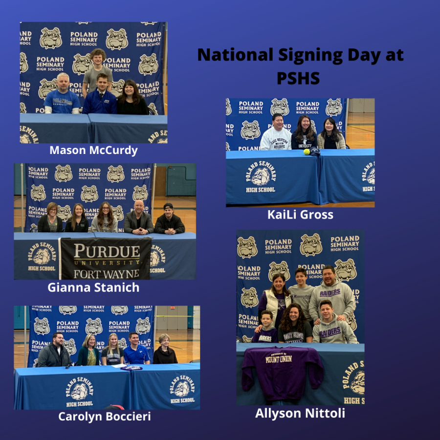 National Signing Day showcases Poland athletes