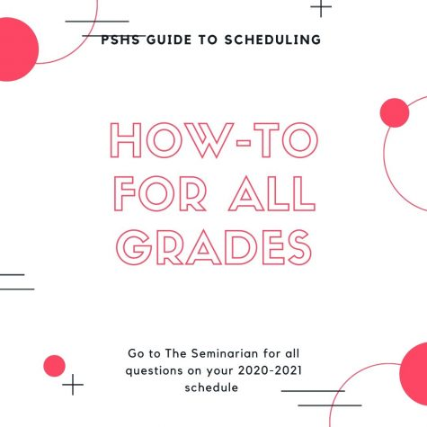 PSHS Guide to Scheduling