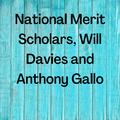 Poland's National Merit Scholars, Will Davies and Anthony Gallo