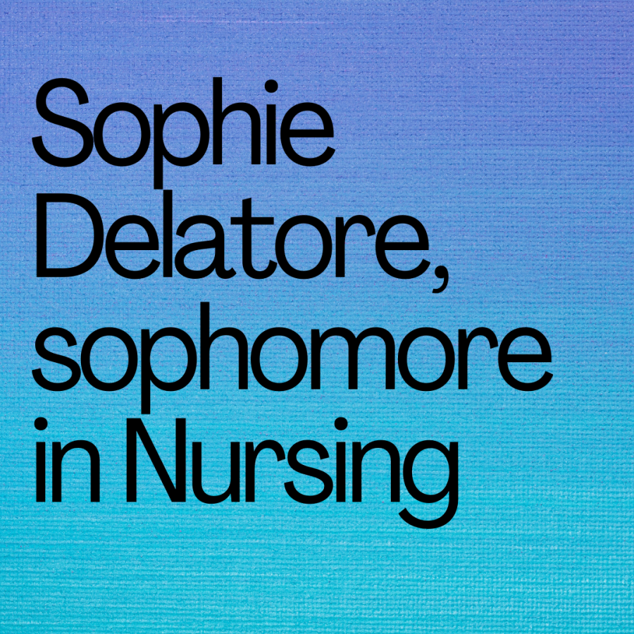 Alumni Feature: Sophia Delatore, Sophomore in Nursing