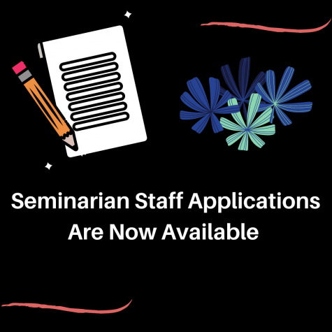 Seminarian Newspaper Staff Applications Now Available