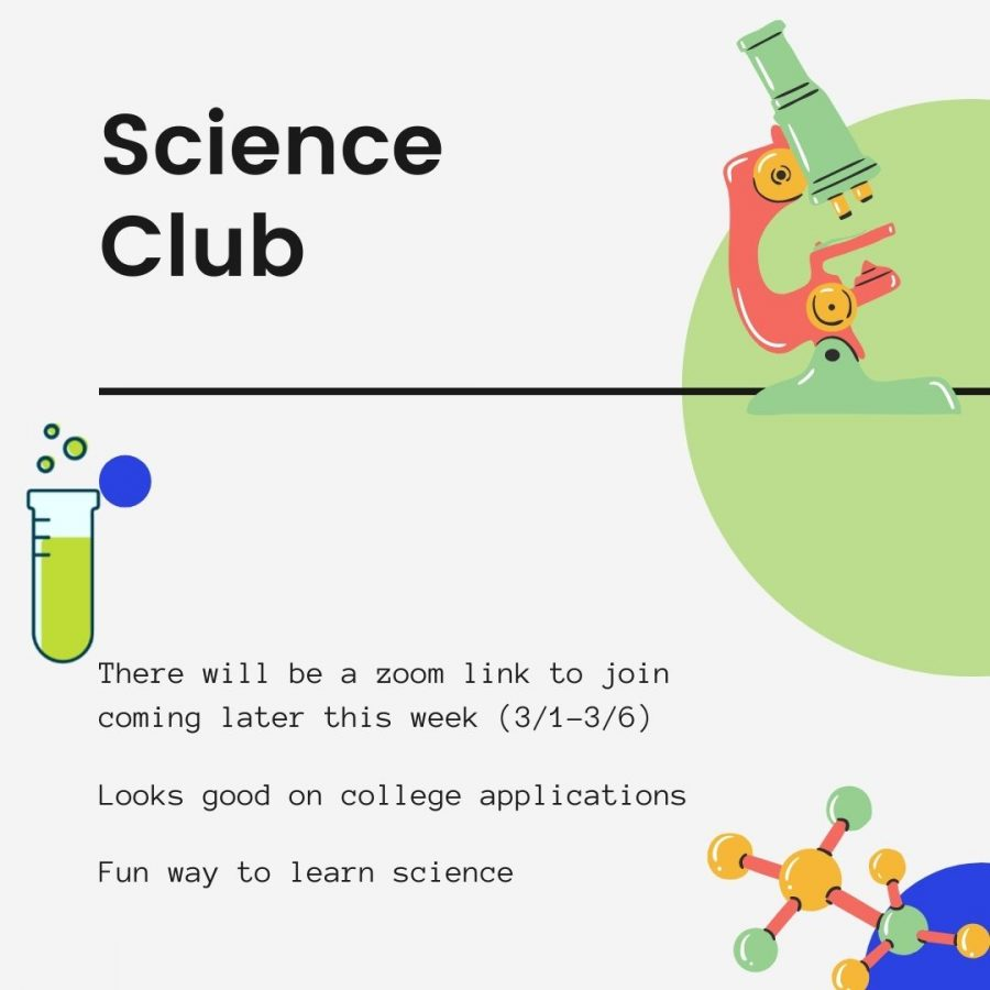 Join Science Club