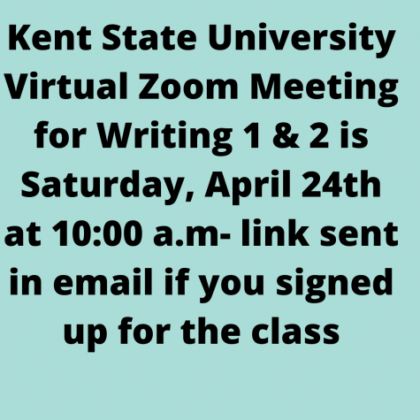College Credit Plus KSU Zoom Reminder