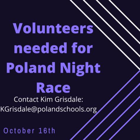 Poland Night Race Volunteers Needed