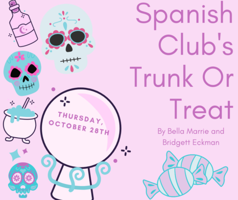 Spanish Club's Trunk or Treat!