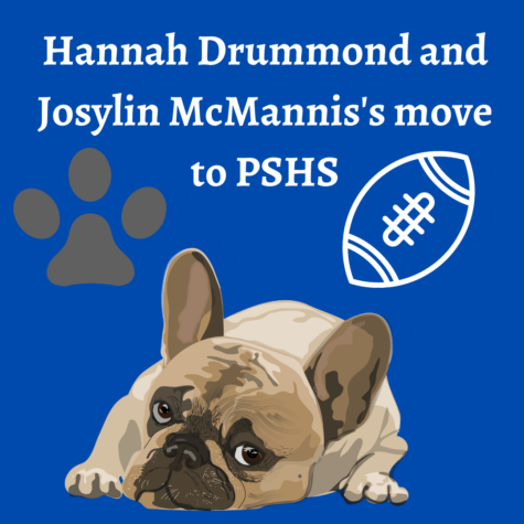 Freshmen students, Hannah Drummond and Josylin McMannis move to PSHS